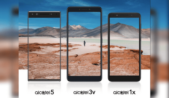 Alcatel 5, Alcatel 3v, & Alcatel 1x Smartphones to be Unveiled on February 24th