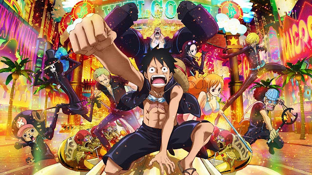 one piece film gold poster 5 Film One Piece Terbaik Menurut Penggemar Anime Jepang
