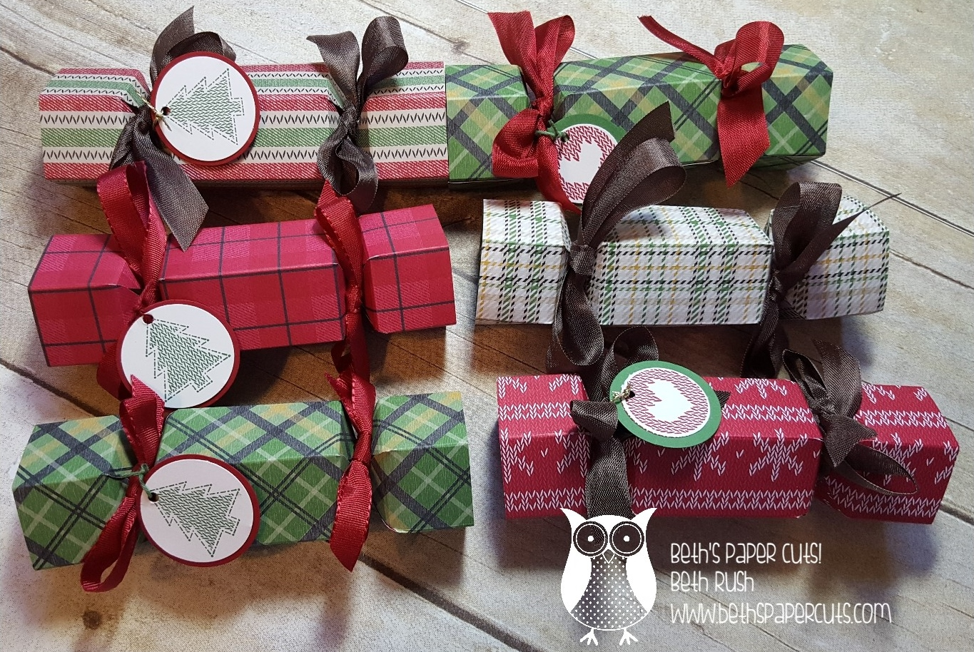 Beth S Paper Cuts Christmas Party Favor Fast And Fun