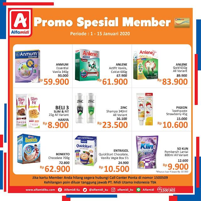 #Alfamidi - #Pomo Katalog Spesial Member Periode 01 - 15 Jan 2020
