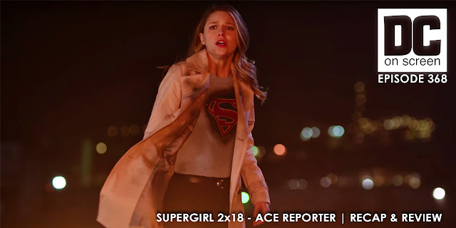 Supergirl reels from watching a man burn to death