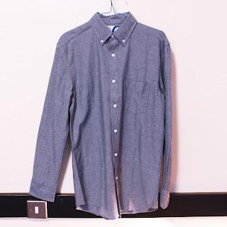 Charles wilson blog review, charles wilson shop review, charles wilson shirts, chambray denim shirt men, chambray denim shirt charles wilson, charles wilson britpop shirt, britpop shirt damon albarn