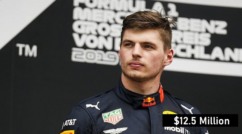 Max Verstappen 2020 Salary