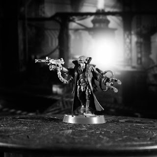 Necromunda House Orlock gang leader conversion