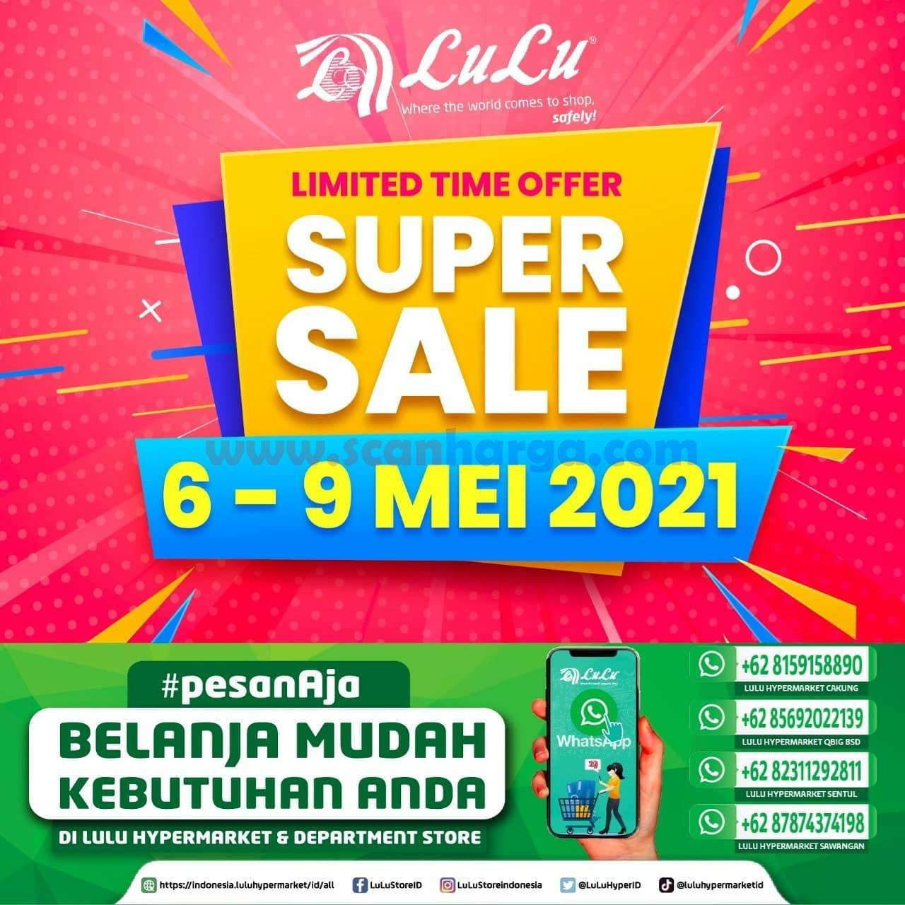 Katalog Promo Lulu Jsm Weekend 6 - 9 Mei 2021