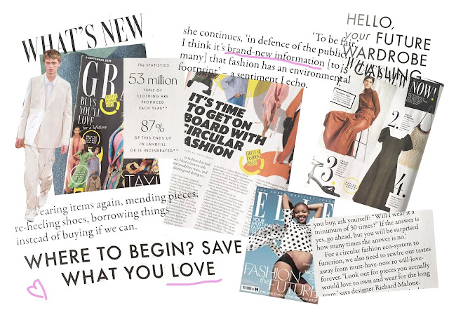 What Do Mainstream Magazines Have To Say About Sustainability in Fashion?