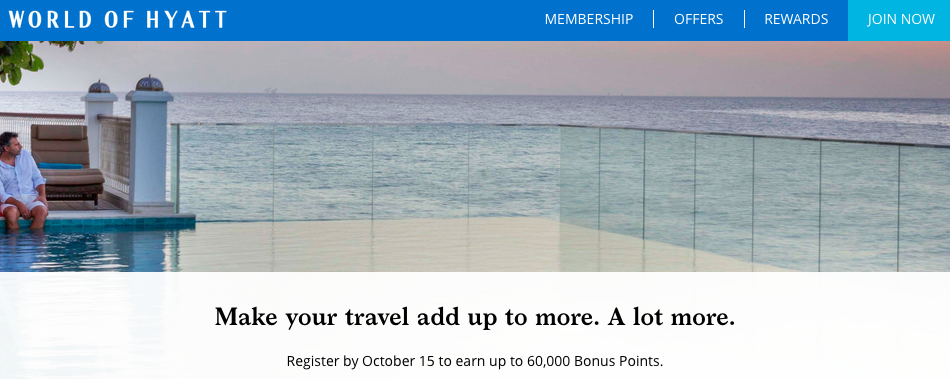 Earn Up To 60 000 Bonus World Of Hyatt Points When You Stay 5 Or More Nights At All Paring Hotels Worldwide Full Details Online Registration