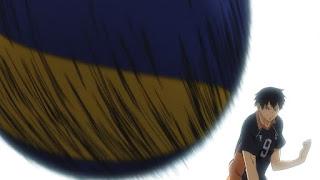 ハイキュー!! アニメ 3期8話 影山飛雄   Karasuno vs Shiratorizawa   HAIKYU!! Season3