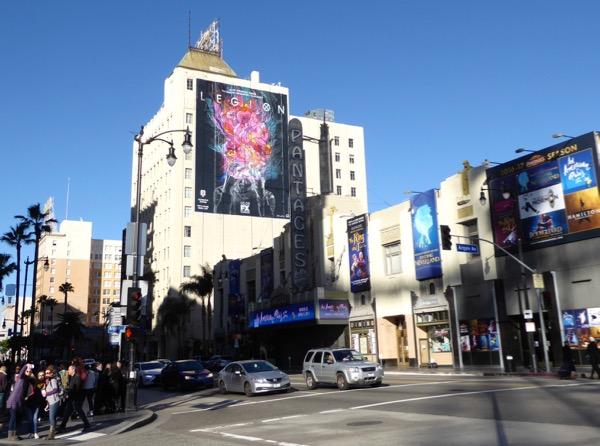 Giant Legion TV series billboard