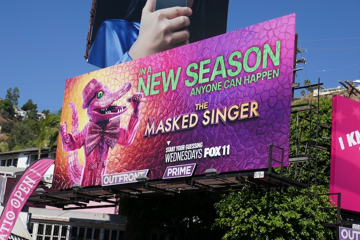 Masked Singer season 4 billboard