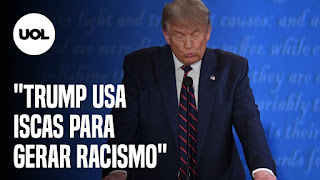 Casal queima livro de Paulo Coelho – Trump x Biden em 1º debate dos EUA
