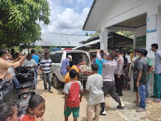 Diduga Keracunan Gas, Belasan Warga Aceh Timur Dilarikan ke Rumah Sakit