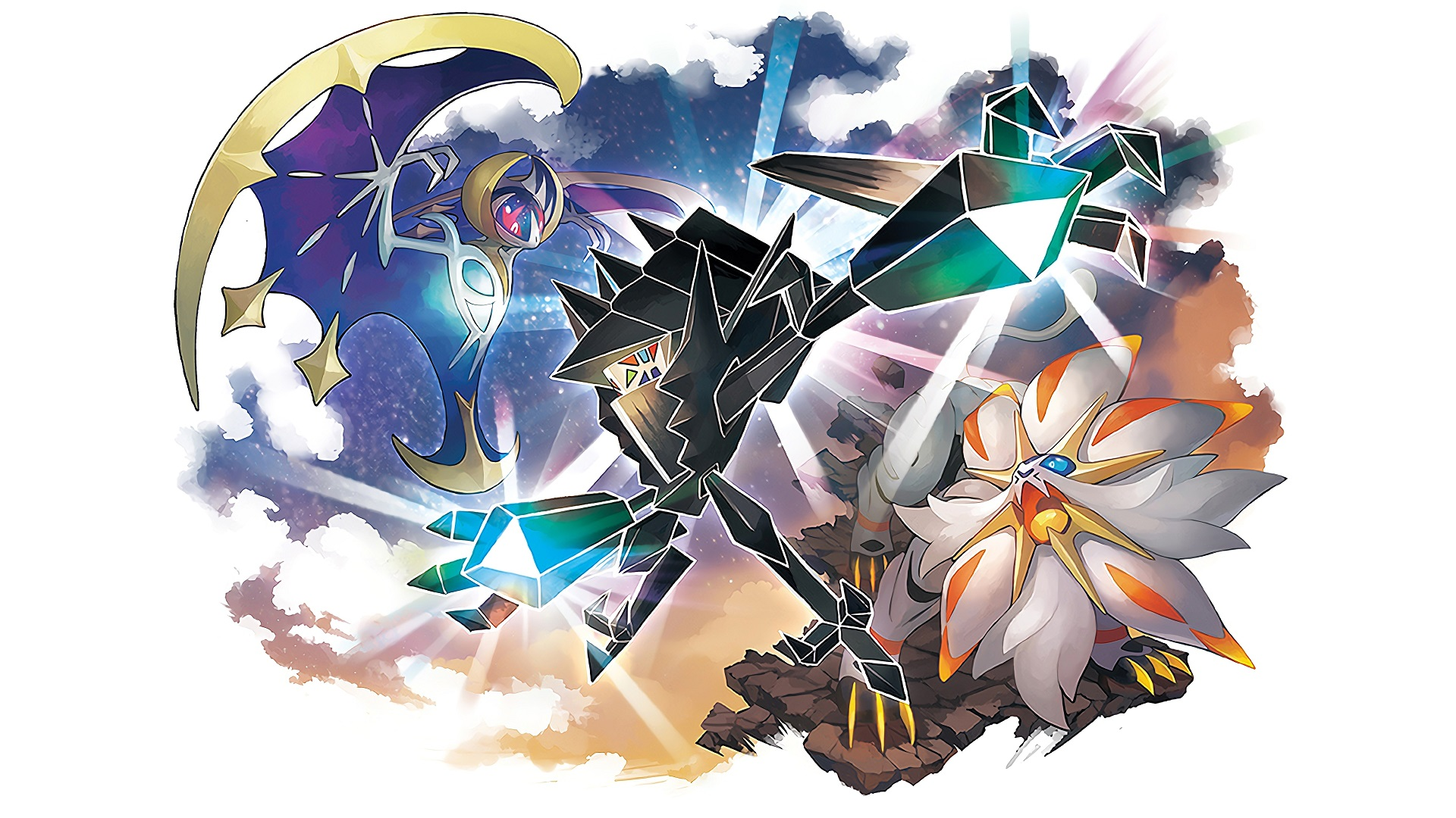 Pokemon Sun And Moon Wallpaper: Pokemon Ultra Sun And Ultra Moon Wallpapers