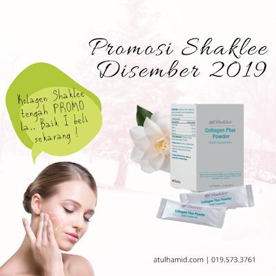 Promosi Shaklee Disember 2019