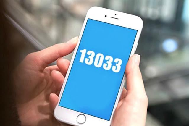 13033: Οι κωδικοί που «κόβονται» από την Παρασκευή 21:00 έως τις 05:00