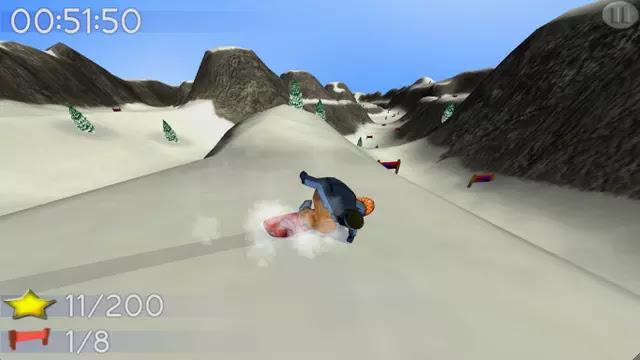Big Mountain Snowboarding Apk