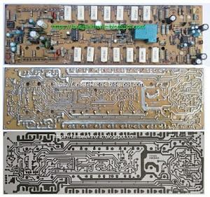 membuat skema rangkaian amplifier apex h900 tef watt besar