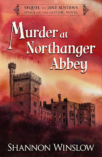 Book cover: Murder at Northanger Abbey by Shannon Winslow