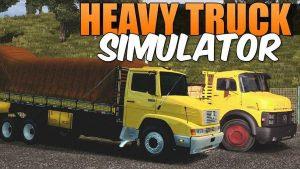 Download Heavy Truck Simulator MOD APK v1.970 Full Hack Unlimited Money Terbaru 2017 Gratis