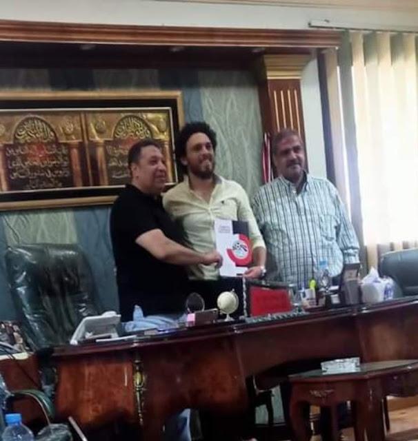 أحمد كابوريا يوقع لدمنهور في صفقة انتقال حر