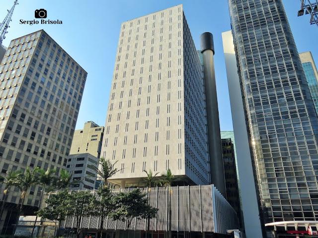 Vista ampla do Edifício do antigo Banco Sul-Americano - Bela Vista - São Paulo