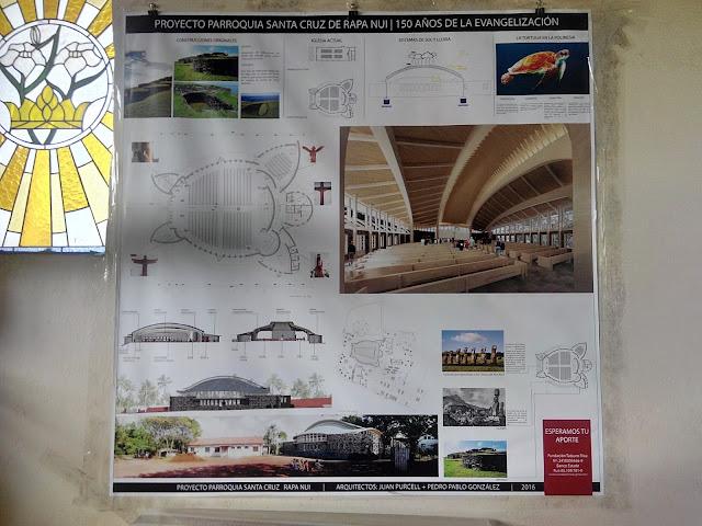 Proyecto de nueva iglesia de Hanga Roa, Isla de Pascua