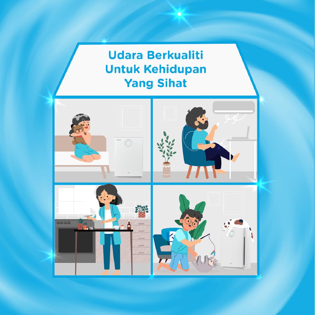 Bersihkan Udara Dalaman Anda untuk Kehidupan Yang Lebih Sihat