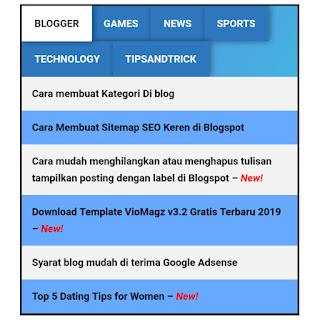 Cara membuat Sitemap SEO Keren pada Blogspot