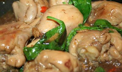 Resep tumis ayam kemangi