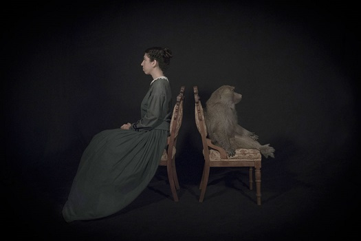 Photo by Tami Bahat - The Dispute - 2016 - From the Dramatis Personae series | fotos surrealistas bellas, imagenes chidas de obras de arte contemporaneo en claroscuro inspiradoras