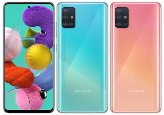 Samsung Galaxy A51 hp terbaru 2020 dengan ahrga terbaik
