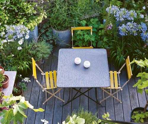 Ideas sencillas e inspiradoras para disfrutar de pequeños espacios al aire libre