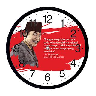 Jam Dinding Custom Surabaya