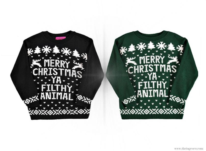 merry christmas filthy animal