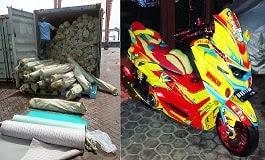 Import Barang China PU Leather Door Delivery Ke Padang Sumatera Barat