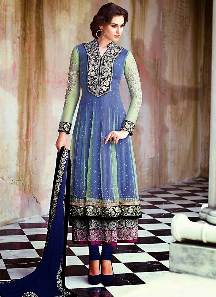 Worlds Beautiful Anarkali Designers Dresses for Girls