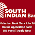 South Indian Bank Recruitment 2019 385 Clerk Vacancies, Apply Online