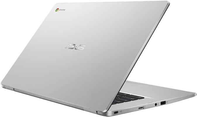 ASUS Chromebook Z1500CN-EJ0165: ultrabook de 15.6'' con software Chromebook, teclado QWERTY en español y entrada USB-C reversible