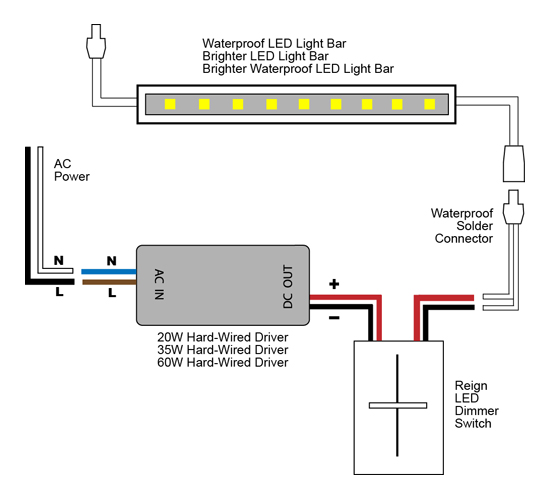 Led Lighting Wiring Diagram Schematic Diagram Electronic Schematic