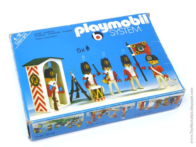 Playmobil 3544, 1978 - 1988  (Playmobil 3544 - redcoats guards)