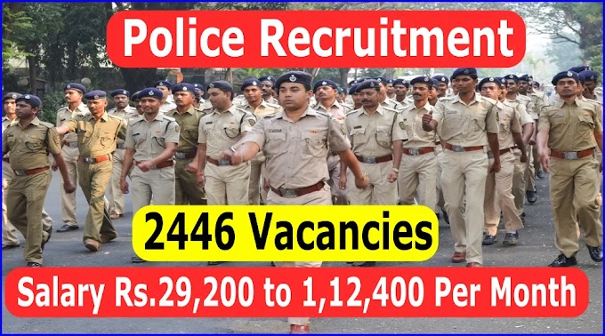 Bihar Police Recruitment Apply for 2446 Police SI, Sergent, Assistant Superintendent Jail