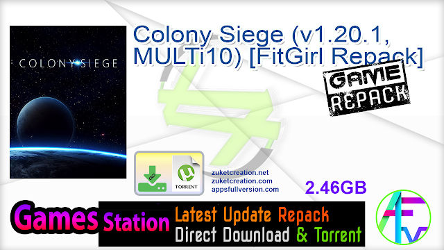 Colony Siege (v1.20.1, MULTi10) [FitGirl Repack]