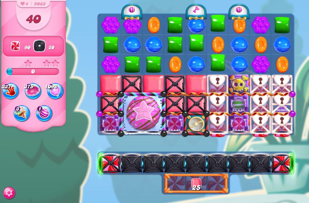 Candy Crush Saga level 9068