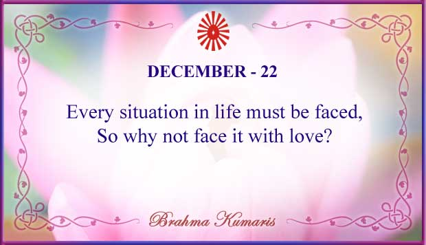 Thought For The Day December 22