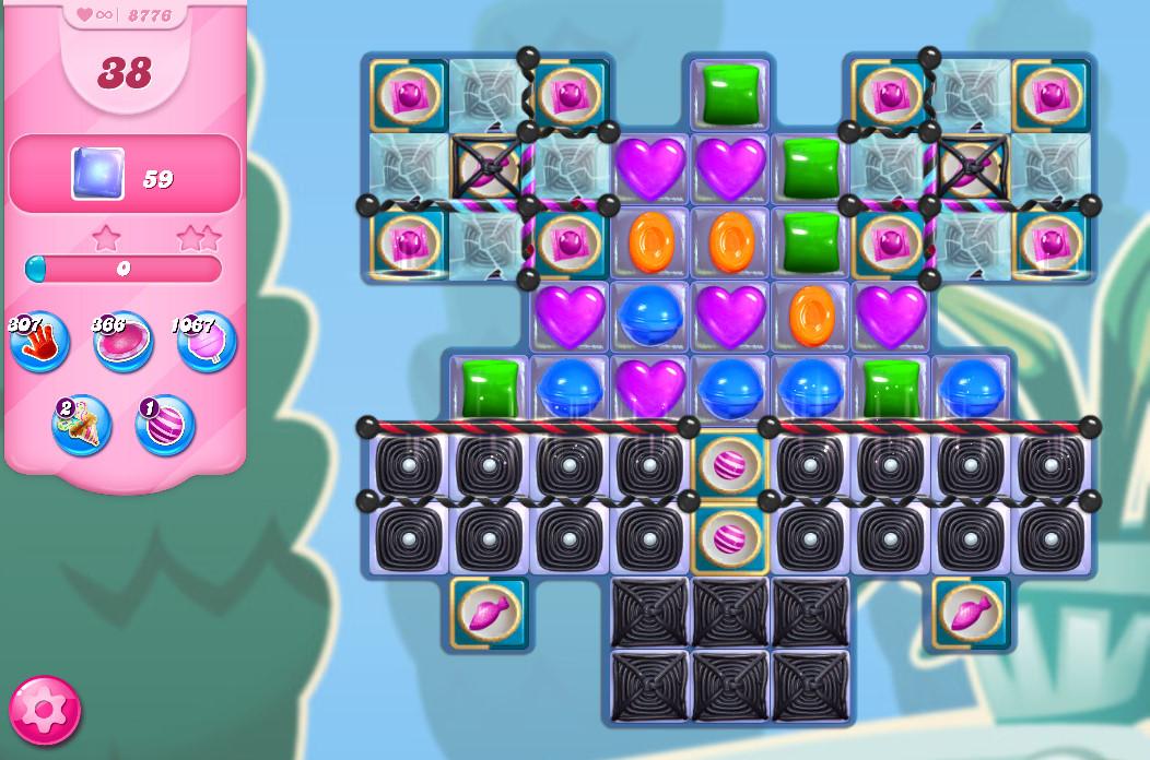 Candy Crush Saga level 8776