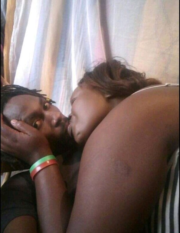 rasta%2Bbaby%2B3 - Kenyan BEN 10 splashes steamy PHOTOs with his sugar-mummy- He was licking the aging woman like a lollipop.