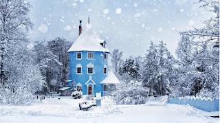 gambar musim salju