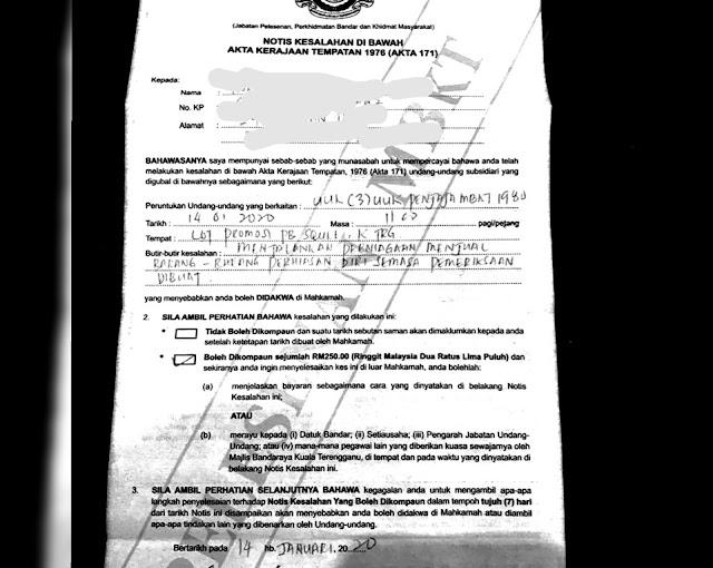 Peniaga Ekspo Jualan PB Square Anjuran PMINT Disaman MBKT