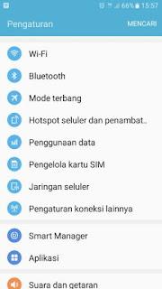 Pengaturan Cara Mengaktifkan 4G di HP Android Samsung Galaxy J7