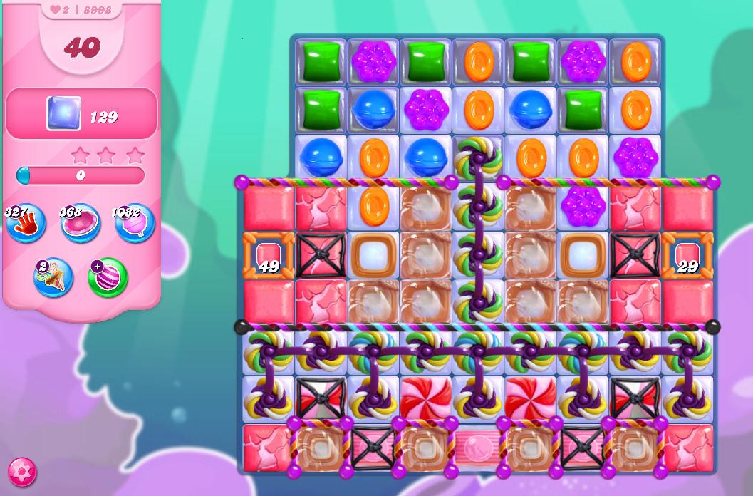 Candy Crush Saga level 8998
